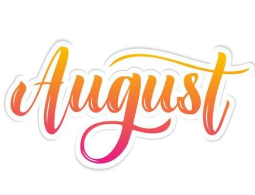 August  – A Message from the Executive Director